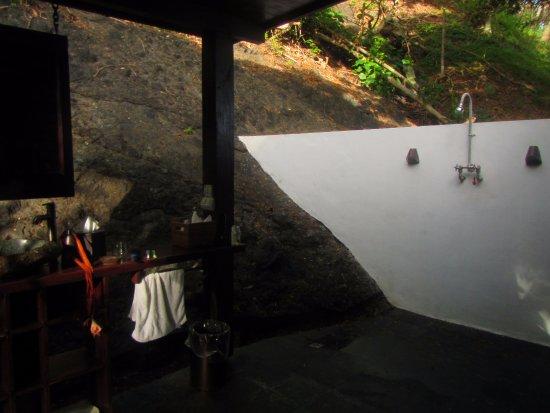 Vanua Levu, Fiyi: Amazing Outside bathroom