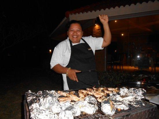 Lipa Noi, Thailand: BBQ Chef