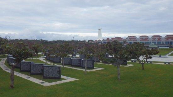 Okinawa Peace Memorial Park : 平和の礎