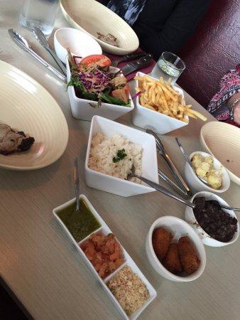 Lapa Brazilian Restaurant: So many sides, dips and extras