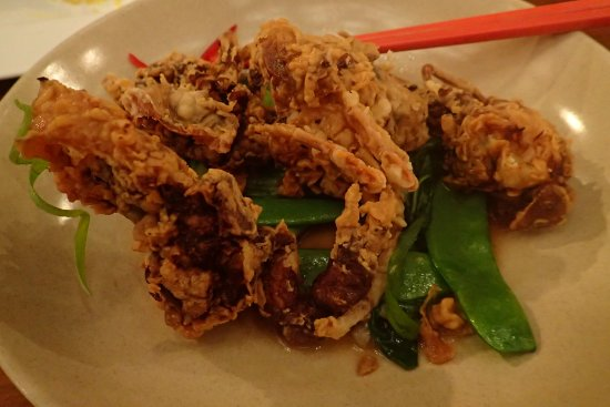 Hornsby, Australia: soft shell crab