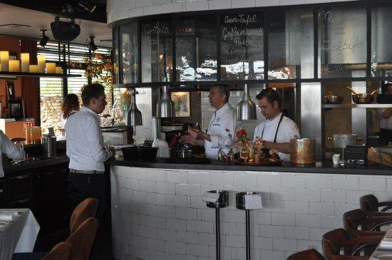 Loosdrecht, Holandia: zicht op keuken