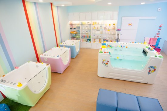 Bubbly Baby Spa: Interior