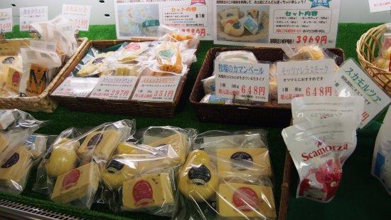 Hamanaka-cho, Japan: 店舗内販売商品
