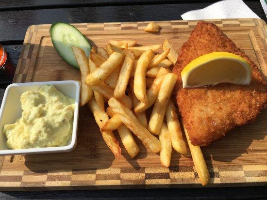 Mans byckare simrishamn omd men om restauranger for Eds fish and chips