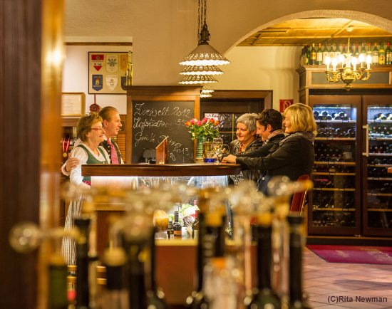 Kirchschlag, Austria: Blick zur Bar