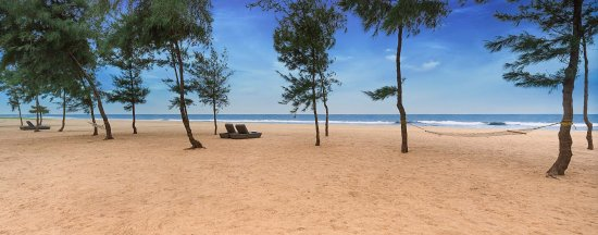 View of the Beach at Chariot Beach Resorts