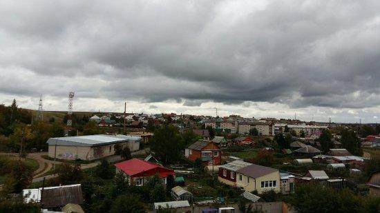Kungur, Russia: Вид из окна