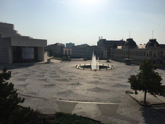 City Hotel Nitra: Vista della stanza