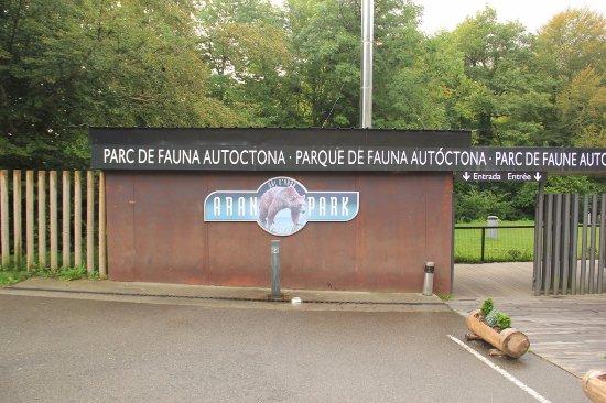 Aran Park: ENTRADA PRINCIPAL