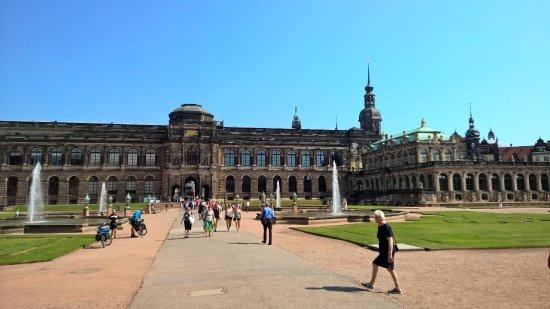 Zwinger Dresden Bild Von Elberadweg Pirna Tripadvisor