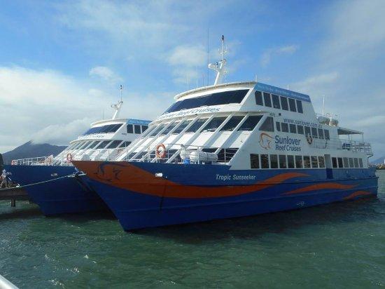 Cairns Region, Australia: All aboard!