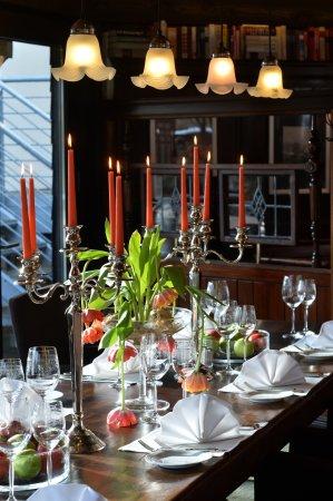 esszimmer - picture of hotel-restaurant am zault, dusseldorf, Esszimmer dekoo