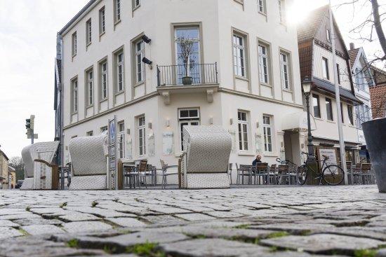 Buckeburg, Tyskland: Le Bistro Bückeburg - Restaurant Außenansicht