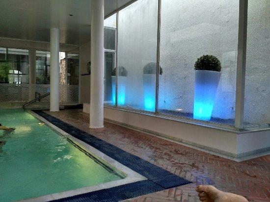 Hotel Balneari Termes Orion: Piscina termal