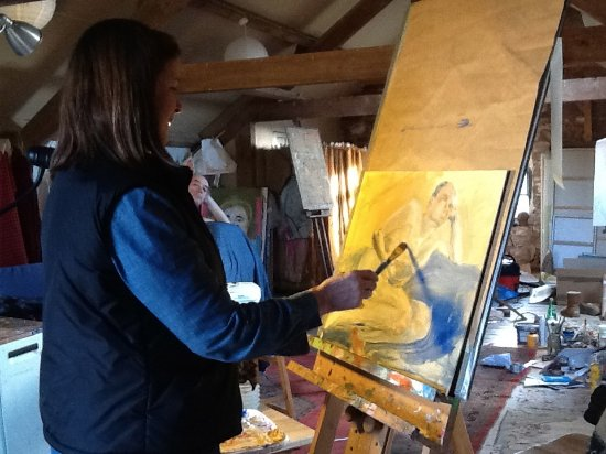 Megan Players Art Studio: Untutored life drawing days- do your own thing with a wam, supportive and interesting group.