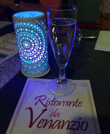Ristorante da Venanzio: prosecchino per aperitivo