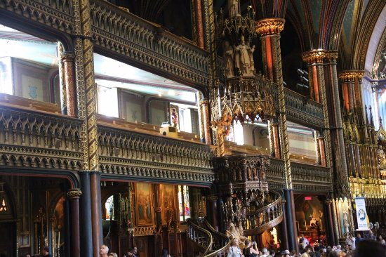 Montreal, Canada: Notre-Dame Basilica