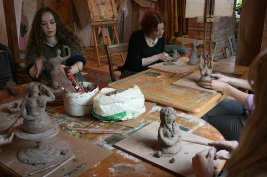 Tiverton, UK: Clay Goddess Making Workshop