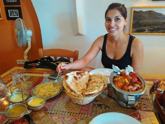 Tabor, Tsjechië: Indická restaurace Tandoor