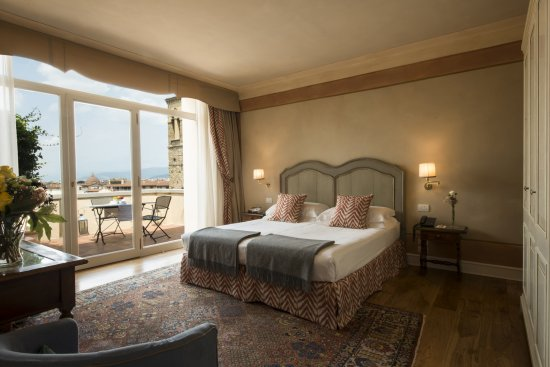 ‪‪Antica Torre di Via Tornabuoni‬: Grand Deluxe room‬