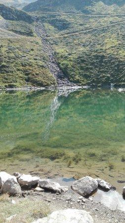 Изер, Франция: En haut du telesiege du lac, rando sympa