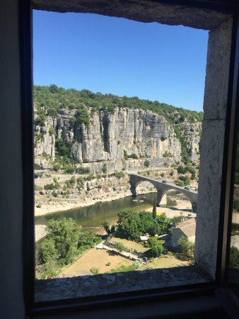 Balazuc, Francia: room with a view