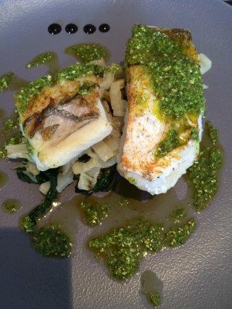 Pleudihen-sur-Rance, França: Filet de merlu