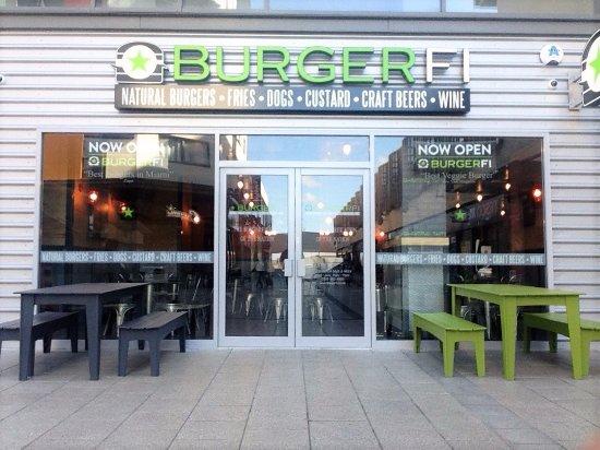 Burgerfi wembley restaurant reviews phone number
