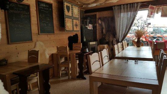 Le Reposoir, Francia: Restaurant Col de La Colombiere
