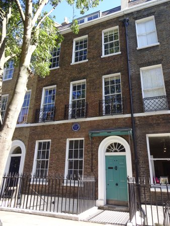 The Charles Dickens Museum: The Front Of The Museum