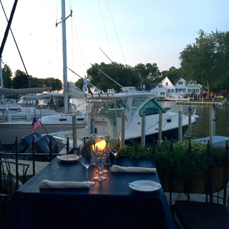 Vermilion, OH: View from our table