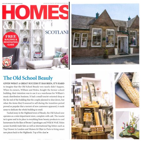 The Old School Beauly: As Featured In Homes And Interiors Scotland.