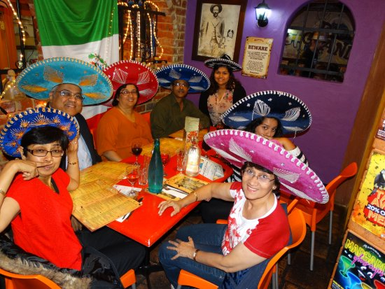 Mount Lawley, Australia: Mexican moustaches at Pancho's