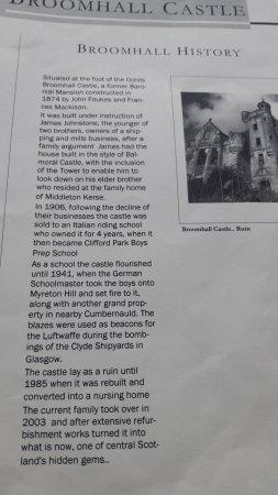 Menstrie, UK: History