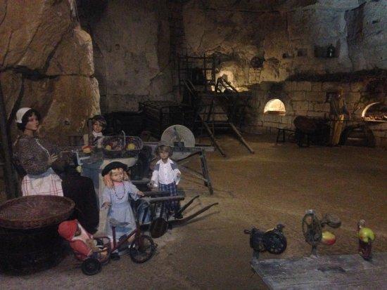 Turquant, Frankrike: reproduction du troglo au XIX° siècle
