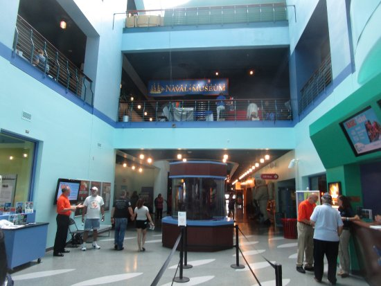 Museum Entry Foyer : Nauticus museum entry foyer picture of