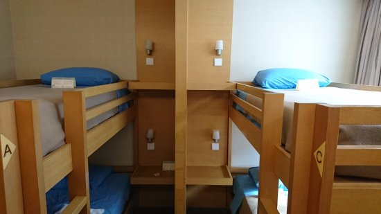 The Salisbury-YMCA of Hong Kong: Female dorm room