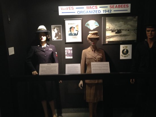 Wolfeboro, NH: Display for Wavs, Wacs, Seabees