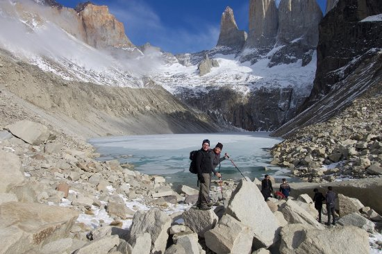 explora Patagonia: Base of the towers