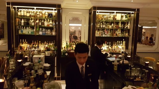 The bar - great selection of spirits