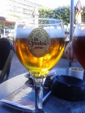 Spey River Bar Brasserie: Cerveja francesa