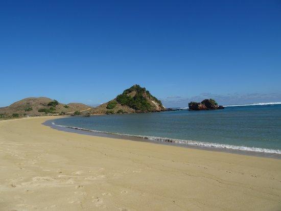 Kuta Beach - Lombok: spiaggia