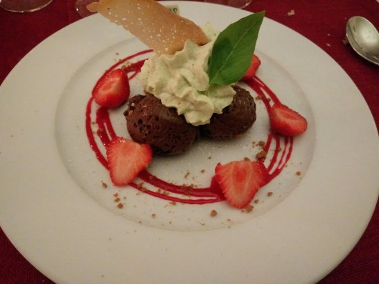 Bricquebec, Frankrike: Dessert