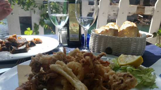 Ansedonia, Włochy: fritto misto