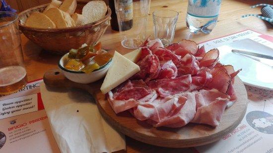 Imer, Italien: Piatto misto al Pradidali