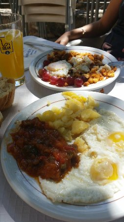 Palomera, Espagne : Comida buenísima