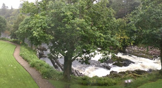 Sheen Falls Lodge : View from our room