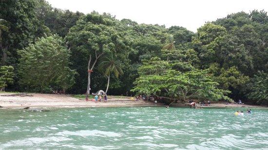 Portobelo, Panamá: Surface interval site.