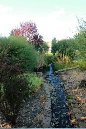 Grangeville, ID: Water feature at the park